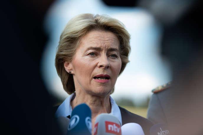 Ursula von der Leyen, l'actuelle ministre allemande de la défense, a été nommée à la tête de la Commission européenne, le 1er juillet.