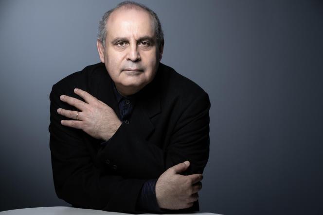 Pierre Audi, directeur du Festival international d'art lyrique d'Aix-en-Provence, à Paris en mai 2019.
