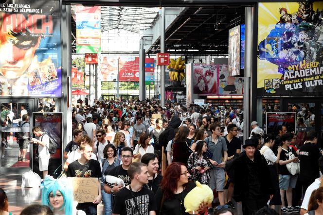 La convention Japan Expo, qui se tient chaque année début juillet, a été reportée à 2021.
