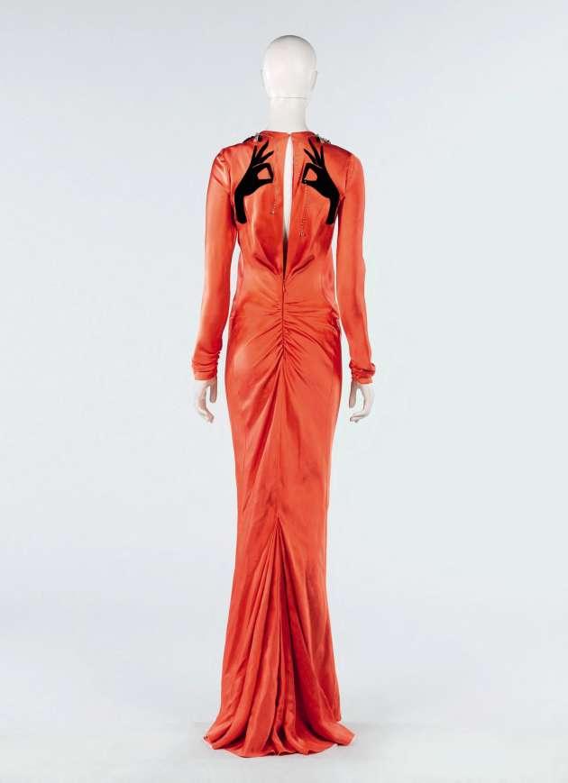 Robe haute couture de Schiaparelli (printemps-été 2015).
