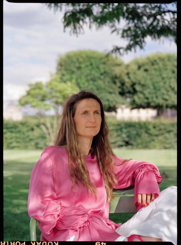 Anne-Laure Kiechel au jardin des Tuileries, à Paris, le 21 juin 2019.