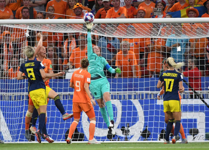 Les Néerlandaises ont battu (1-0 après prolongation) les Suédoises, mercredi 3 juillet, en demi-finales du Mondial.