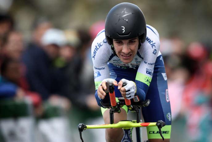 Guillaume Martin au Tour de Romandie , le 5 mai à Genève.