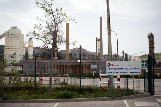 La raffinerie d'agrocarburants de La Mède (Bouches-du-Rhône), le 16 avril 2015.