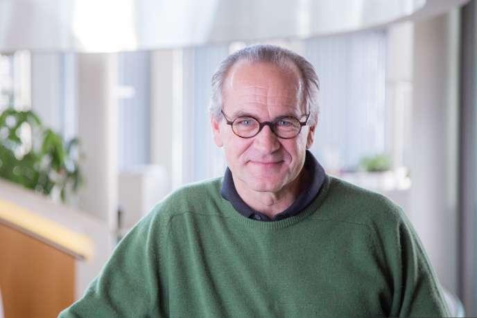 Antoine Raymond, PDG de l'entreprise ARaymond qui compte 7200 salariés dans 25pays et dont le siège se trouve à Grenoble.
