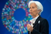 Christine Lagarde, au FMI, à Washington, le 10 avril 2019.
