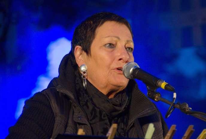 Anne Vanderlove à Vannes, le 7 juillet 2012.