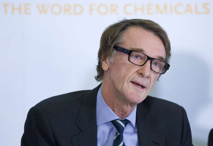 Jim Ratcliffe, à Londres en 2014.
