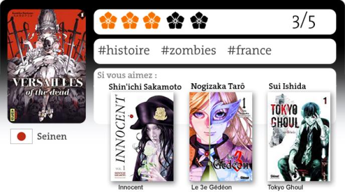 Manga: «Versailles of the Dead», Marie-Antoinette au pays des zombies