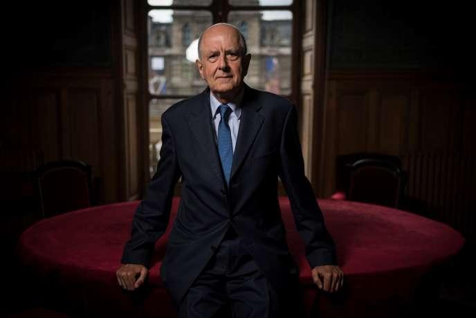 Jean-Marc Sauvé, à Paris en septembre 2017.