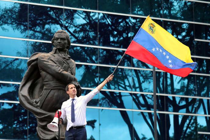 Le leader de l'opposition, Juan Guaido, à Caracas, le 5 juillet.