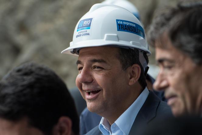 Sergio Cabral est emprisonné depuis la fin de l'année 2016 et a été reconnu coupable de plusieurs cas de corruption au cours de son mandat (2007-2014).