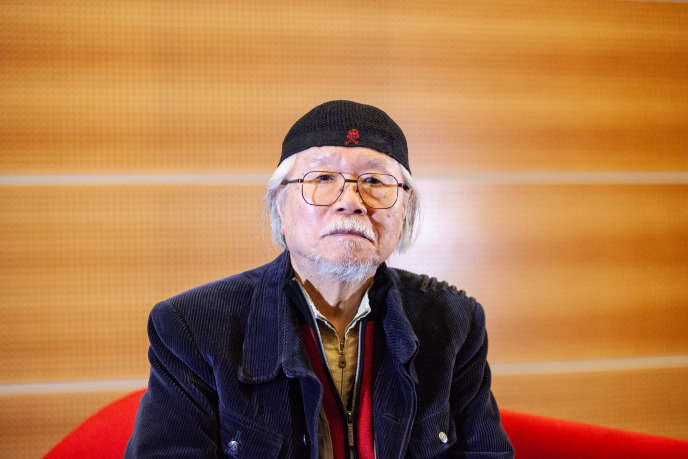 Leiji Matsumoto lors de la Monaco Anime Game International Conference (MAGIC) le 9 mars 2019.