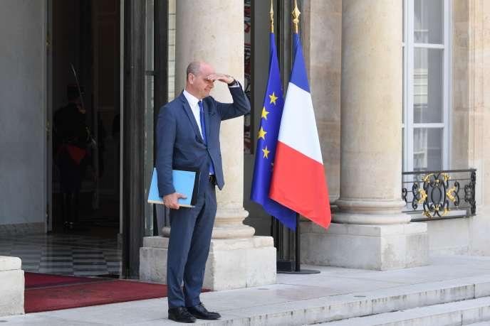 Le ministre de l'éducation nationale, Jean-Michel Blanquer, à l'Elysée le 24 juin.
