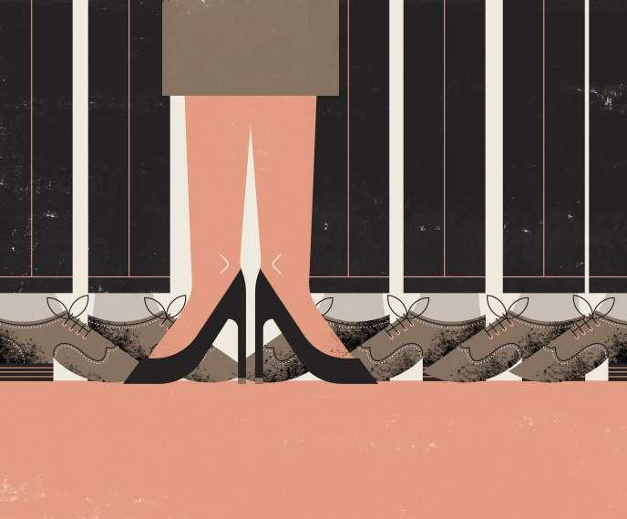 «Les sociétés entre 500 et 2500 salariés comptent en moyenne 23,4% de femmes dans leurs Comex ou leurs directoires, contre 21,5% pour celles qui affichent entre 250 et 500 salariés et 21,2% pour celles qui en emploient entre 50 et 250»