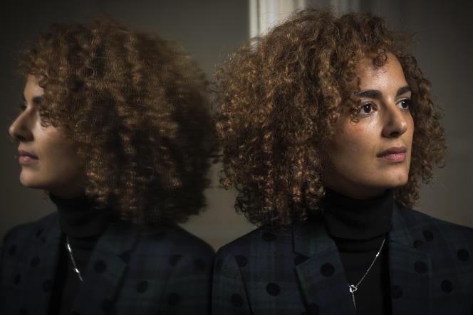 L'écrivaine Leïla Slimani à Paris, en janvier 2018.
