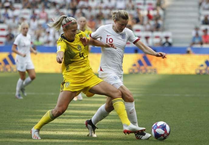 La Suède a battu (2-1) l'Angleterre, samedi 6 juillet, à Nice, lors du match pour la troisième place de la Coupe du monde.