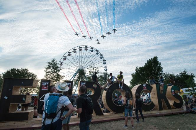 Le festival des Eurockéennes, à Belfort, le 7 juillet.