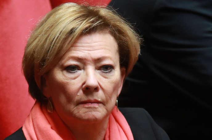 Patricia Gallerneau, le 21 février 2018.