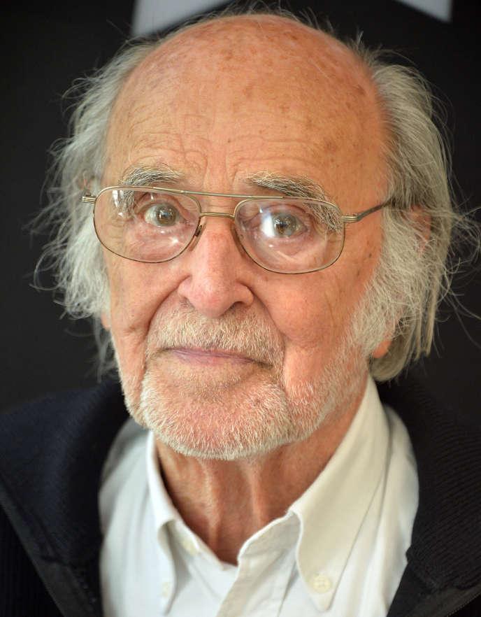 Pierre Lhomme, à Paris, le 6 mai 2015.