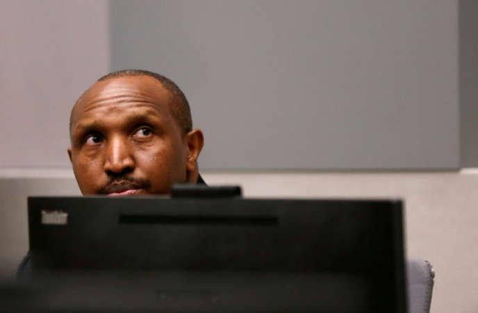 Le milicien congolais Bosco Ntaganda à la Cour pénale internationale de La Haye, le 8 juillet 2019.
