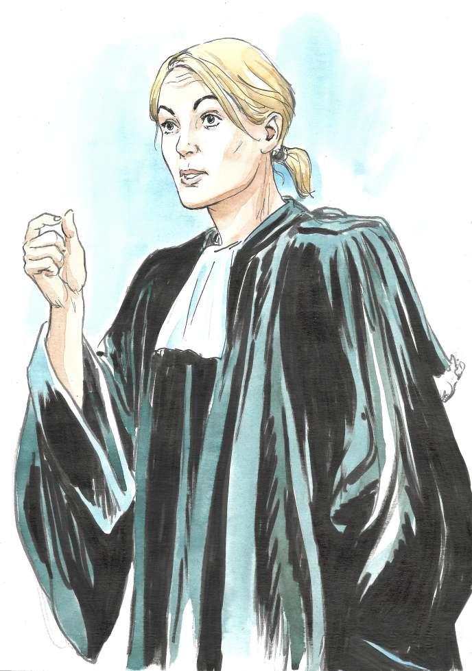 Me Claudia Chemarin, avocate de la défense, le 8 juillet.