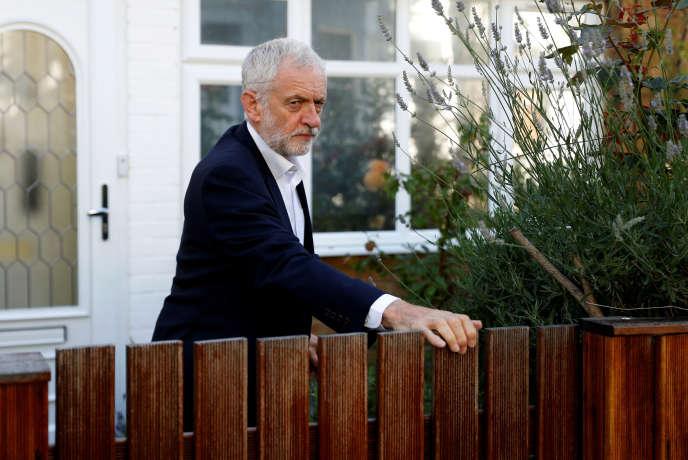 Le chef de file des travaillistes, Jeremy Corbyn, le 3 juillet à Londres.