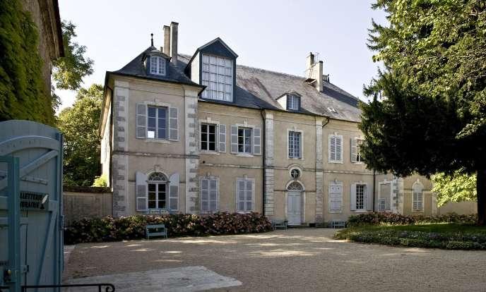 La maison de George Sand à Nohant (Indre).