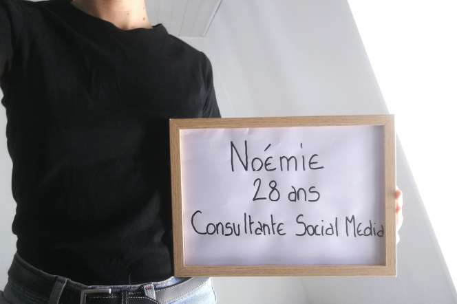 Noémie, 28ans, membre de la communauté des Paumé.e.s.