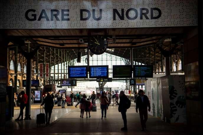 A la gare du Nord, à Paris, en avril 2018.
