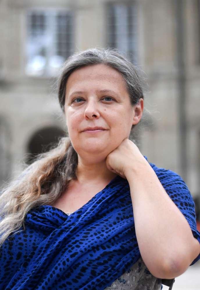 Irène Bonnaud, le 9 juillet 2019 à Avignon.