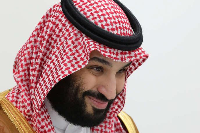 Le prince héritier Mohammed Ben Salman, lors du G20 à Osaka, le 29 juin. Selon Reporters sans frontières, le nombre de journalistes et blogueurs derrière les barreaux en Arabie saoudite a doublé depuis son arrivée à la tête du pouvoir en2017.