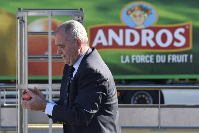 Frédéric Gervoson, PDG d'Andros, en avril 2017.