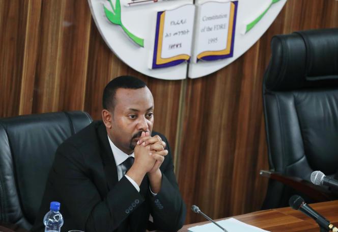 Le premier ministre éthiopien Abiy Ahmed à Addis-Abeba, le 1er juillet 2019.