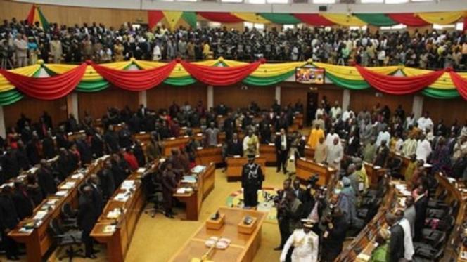 Le Parlement ghanéen.