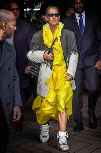 En novembre, Céline Dion sortira un nouvel album, baptisé «Courage». De fait, il en faut pour observer la transformation de la Canadienne, sur le point de passer du statut de chanteuse gentiment ringarde à celui d'icône fashion, ensevelie sous les cadeaux des marques, les délires de stylistes, les combis jaunes en matière technique, les blazers trop compliqués et les bottes d'astronautes à trois mille euros… Courage. Surtout à toi, Céline.