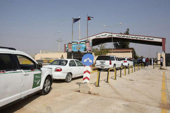 Le poste frontière de Jaber entre Syrie et Jordanie, en octobre 2018.