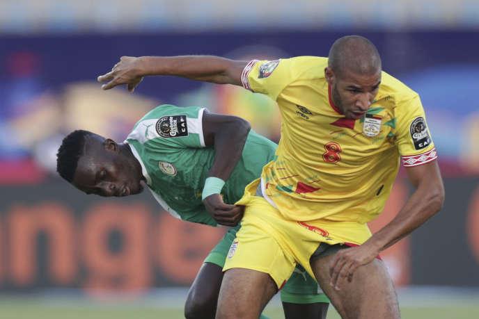 Idrissa Gana Gueye, lors d'un match Sénégal - Benin, le 30 juin 2019.