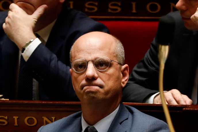 Le ministre de l'éducation, Jean-Michel Blanquer, le 26 juin à l'Assemblée nationale.