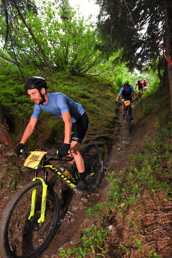 Pour l'un des participants, «l'Ultra-trail du Mont-Blanc, c'est du pipi de chat à côté de ce qu'on est en train de faire».