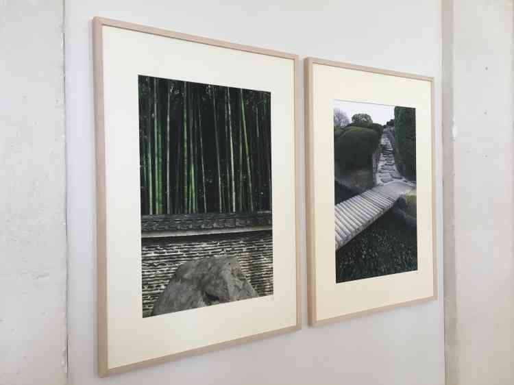 L'artiste a sillonné depuis plus de dix ans les jardins du Japon. Il a su en capter la «beauté mélancolique».