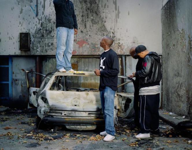 Mohamed Bourouissa : «L'impasse»de la série Périphérique, 2007 - avec l'aimable autorisation de l'artiste.