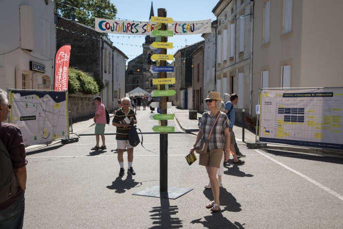 A Couthures-sur-Garonne, vendredi 12 juillet.