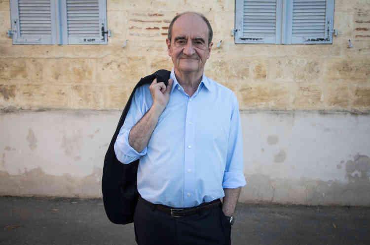 Pierre Lescure, parrain de la 4e édition du Festival international de journalisme de Couthures-sur-Garonne.