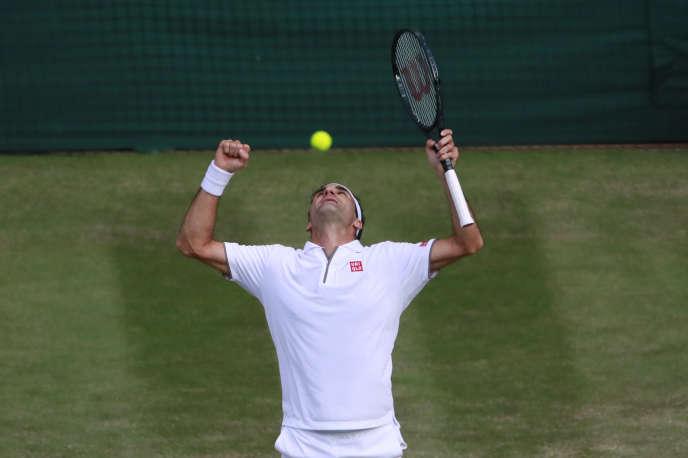 Vainqueur de Rafael Nadal vendredi 12 juillet, Roger Federer, 37 ans et onze mois, disputera dimanche sa douzième finale à Wimbledon pour tenter d'accrocher sa 21e couronne en Grand Chelem.