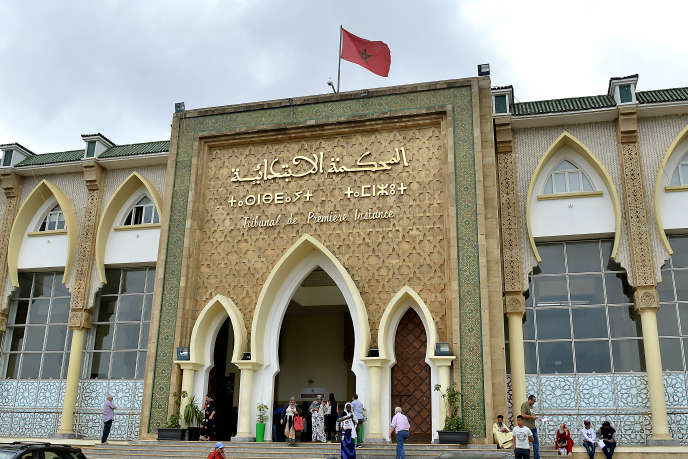 Tribunal de Salé, au Maroc.