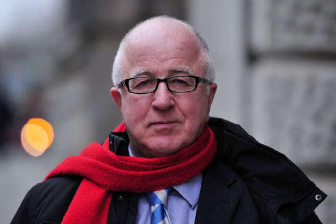 L'ancien ministre britannique des affaires européennes (Parti travailliste) Denis MacShane, le 23 décembre 2013.