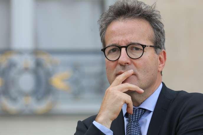 Martin Hirsch, à l'Elysée, à Paris, le 18 septembre 2018.