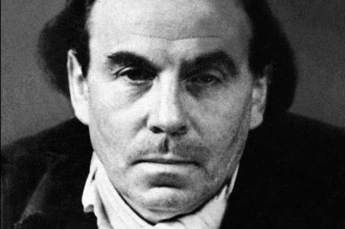 Portrait daté de 1951 de l'écrivain fançais Louis-Ferdinand Céline (Destouches).