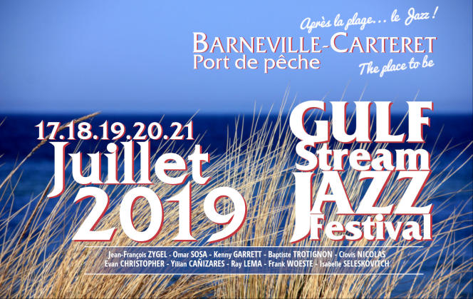 Le Gulf Stream Jazz Festival, àBarneville-Carteret, dans le Cotentin, offre une vue sur les îles anglo-normandes.